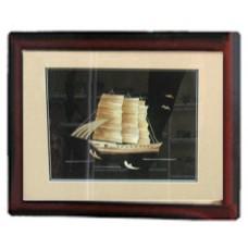 18038 Картина кораб 35/48 см