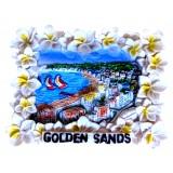 19145 Магнит Златни пясъци 6/7 см