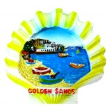 19163 Магнит Златни пясъци 8 см