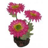 21093.4 Изкуствено цвете гербер 25 см
