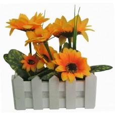 21094 Изкуствено цвете слънчоглед 18/14 см