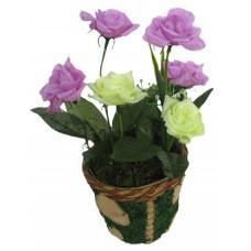 21098.1 Изкуствено цвете роза 22 см