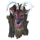 23036 Глава на елен закачалка 14/23 см