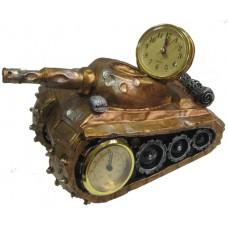 23039 Танк с часовник и термометър 25 см