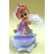 23112.B Ангел светещ 13 см