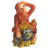 23131.1 Маймуна върху жаба 11 см