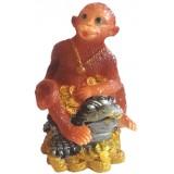 23131.2 Маймуна върху жаба 11 см