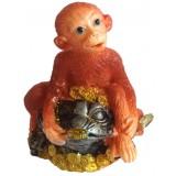 23135.1 Маймуна върху жаба  9 см