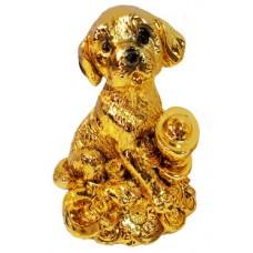 23148.1 Куче с парички 10 см