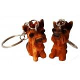23156 Куче ключодържател 4 см