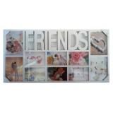 25010.1 Рамка за снимка Friends за 10 снимки 37/70 см