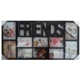 25010.2 Рамка за снимка Friends за 10 снимки 37/70 см