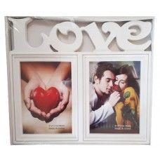 25018.1 Рамка за 2 снимки LOVE 30/30 см