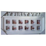 25021 Рамка за 12 снимки My First year 20/44 см