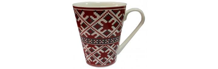 25038.1 Чаша с национални мотиви - шевици 10 см, Ф 8 см