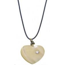 31006 Колие със сърце 1,5 см