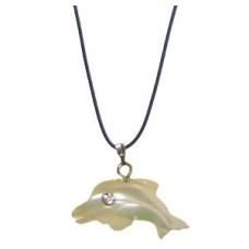 31007 Колие с делфин 3 см