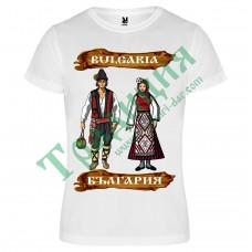 110 Тениска с Момче и Момиче  България