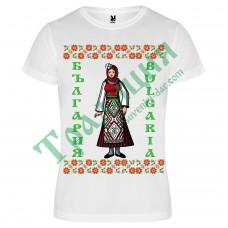 116 Тениска с Момиче  България