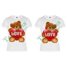 405 Тениски за влюбени Love